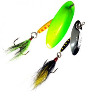 Large Bucktail Spinners Panther Martin
