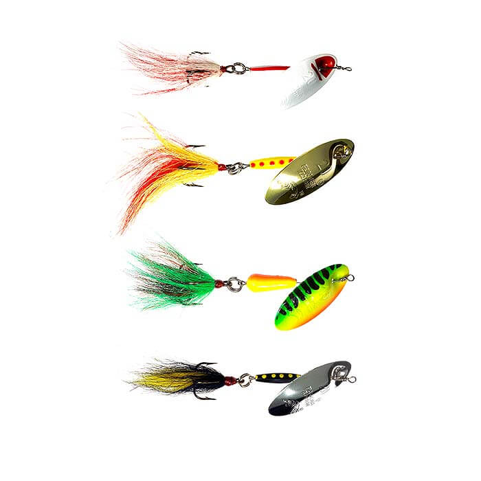 Large Bucktail Spinners