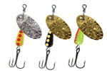 New Lures Hammered Blade Spinners