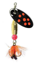 Black Panther Fly, Fluorescent Orange