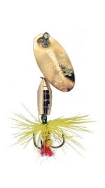 Deluxe Dressed Fly Gold Yellow PMRF GY